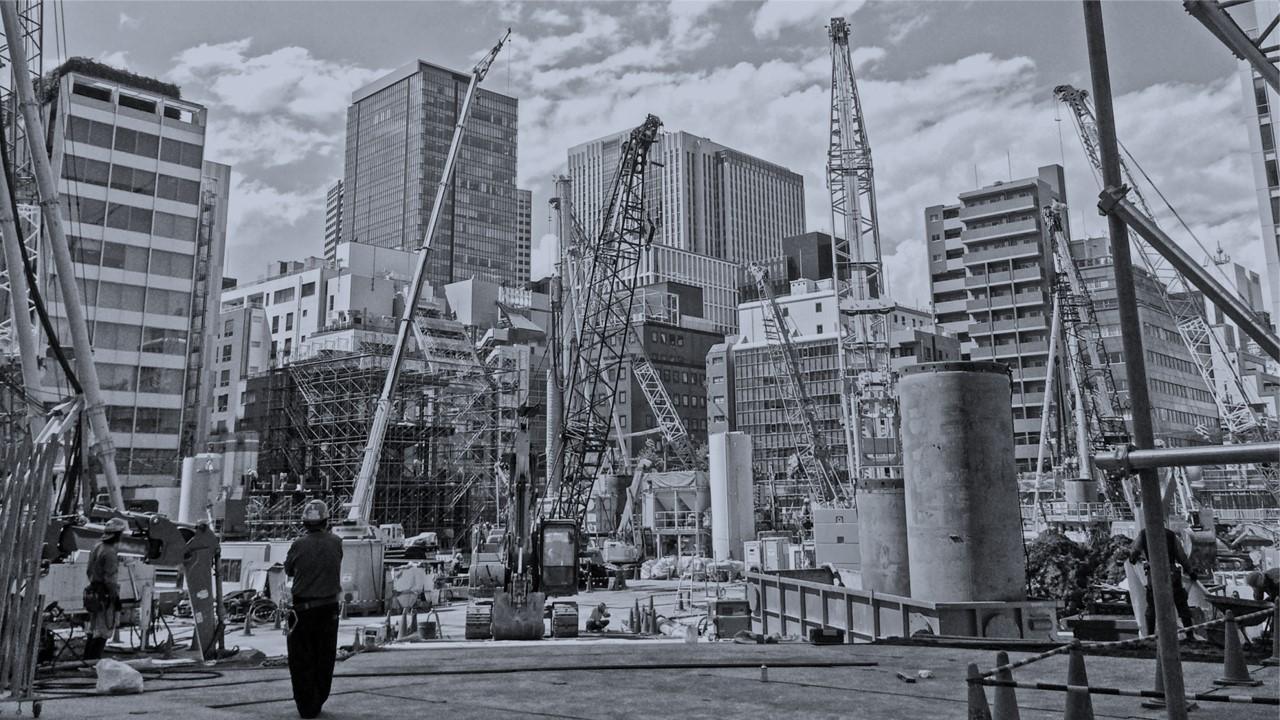 未来の工事現場