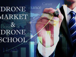 _拡大するドローン市場と増加するドローンスクール