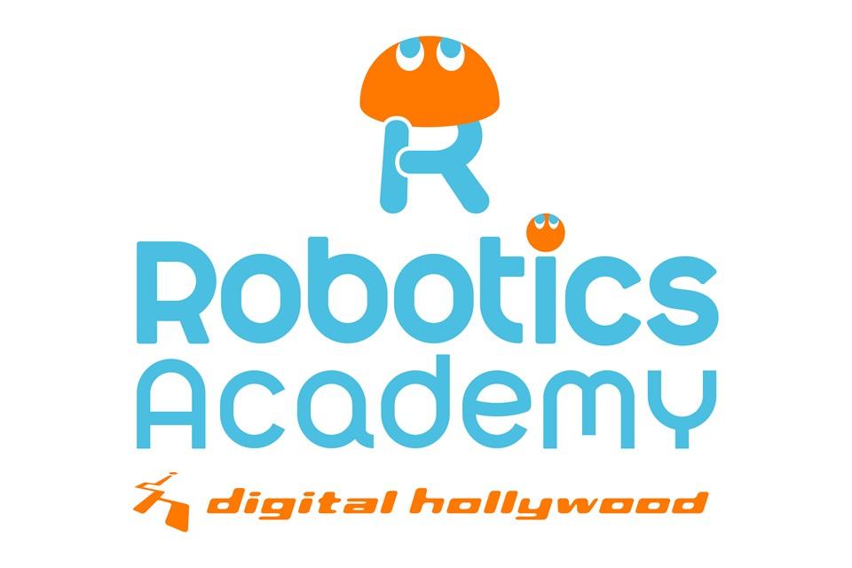デジタルハリウッド ロボティクスアカデミー ロゴ